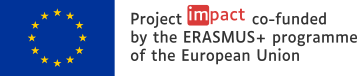 Project Impact co-funded by the Erasmus+ programme of the European Union